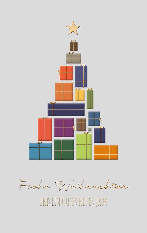 pr sentebaum au ergew hnliche weihnachtskarten f r firmen. Black Bedroom Furniture Sets. Home Design Ideas
