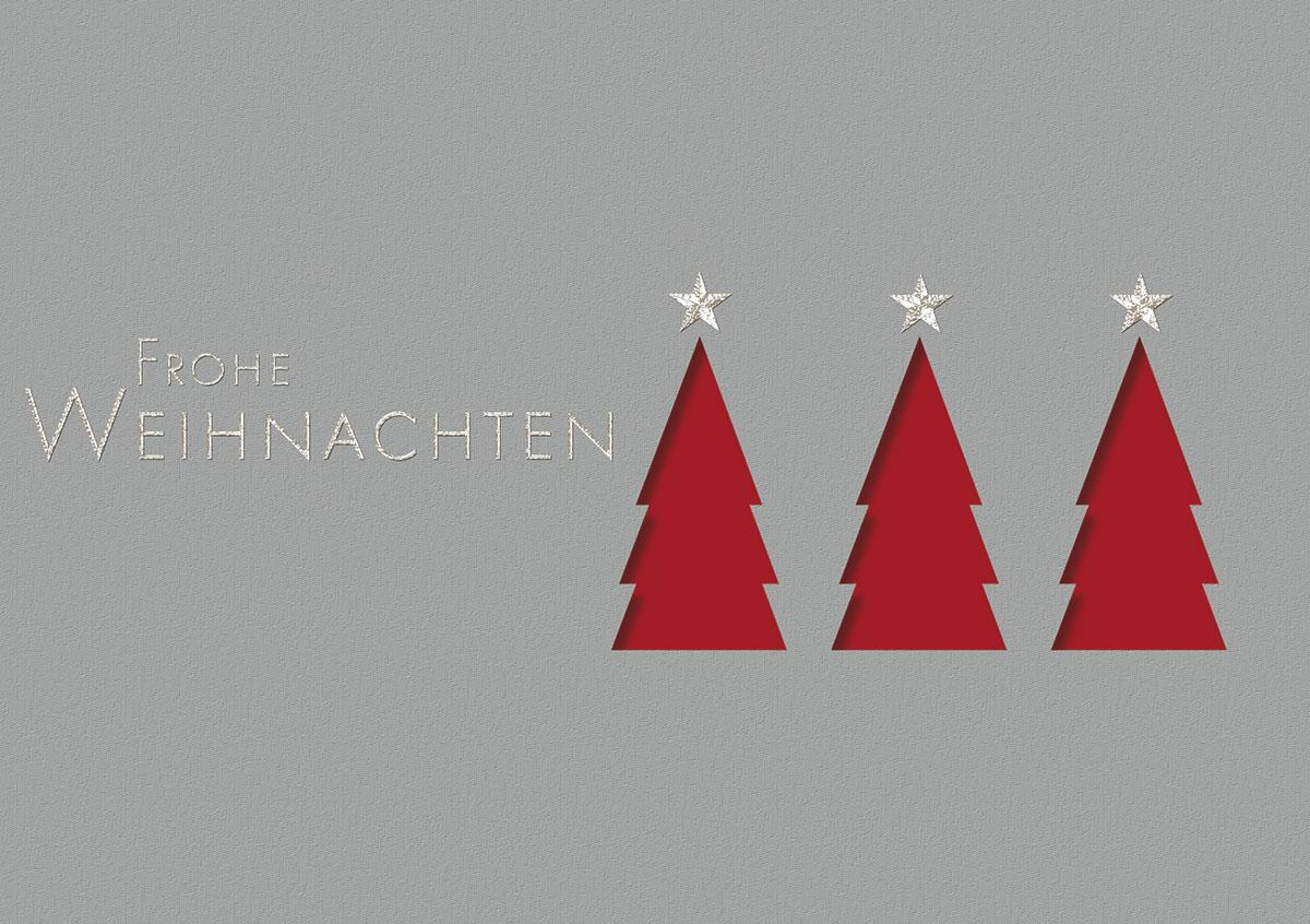 Einlegeblätter Für Weihnachtskarten.Gestanzte Bäume Außergewöhnliche Weihnachtskarten Für Firmen