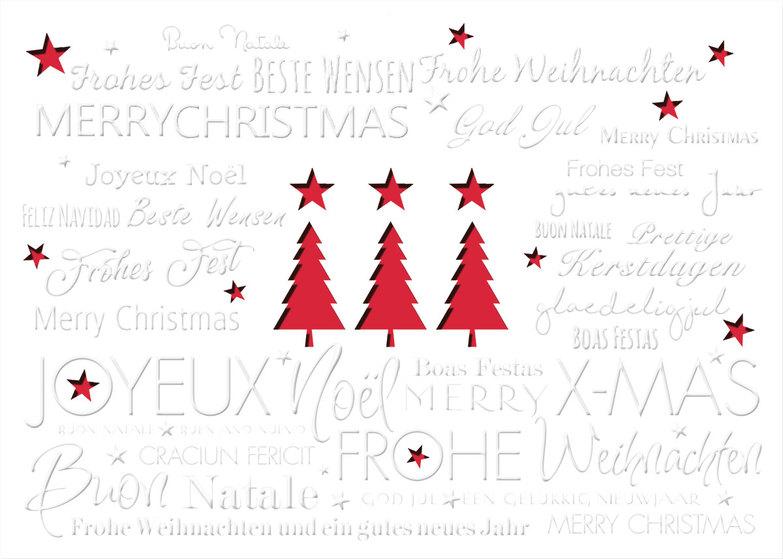 stanzkarten weihnachtskarten online kollektion artgrafica. Black Bedroom Furniture Sets. Home Design Ideas