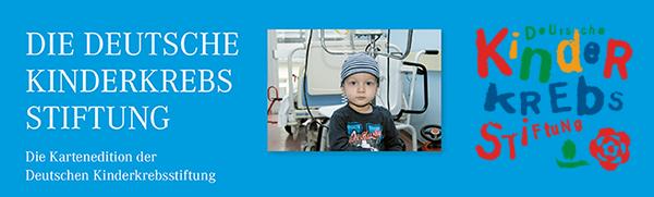 Karten Edition zugunsten der Deutschen Kinderkrebsstiftung